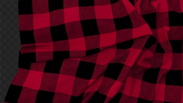 Thumbnail for Red Plaid Cloth Reveal 03