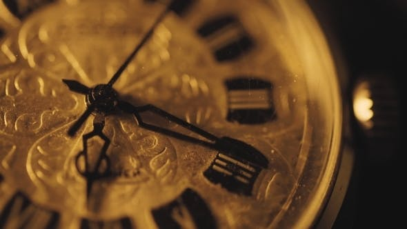 Thumbnail for Counting Time on Vintage Watch Mechanism, Vintage Clock
