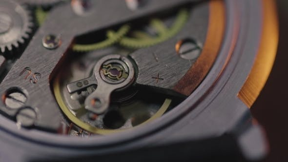 Thumbnail for Shoot of Working Analog Watch Mechanism