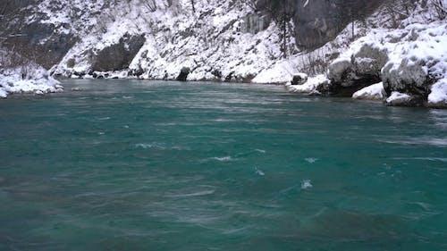 Winter River Tara in Montenegro