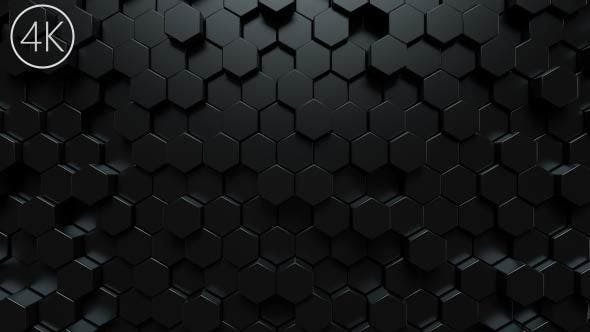 Thumbnail for Dark Hexagons Background
