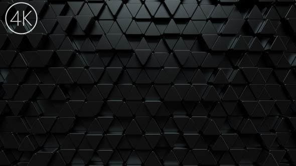 Thumbnail for Dark Triangles Background