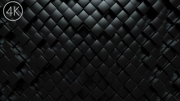 Dark Squares Background