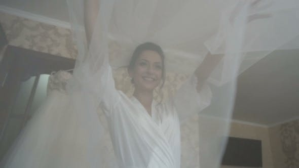 Thumbnail for Bride with Veil