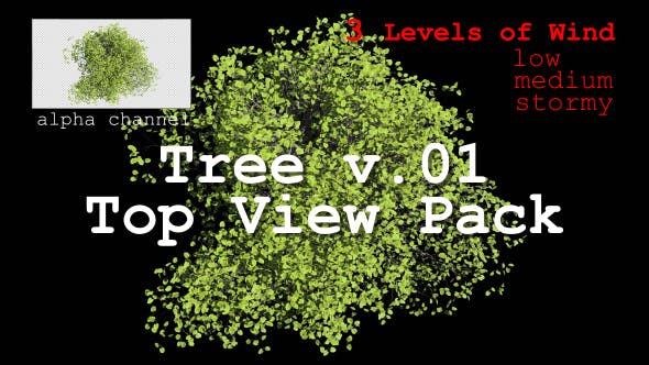 Thumbnail for Tree v. 01 Top View Pack