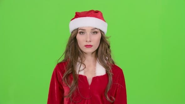Thumbnail for Santas Assistant Starts Smiles on Green Screen