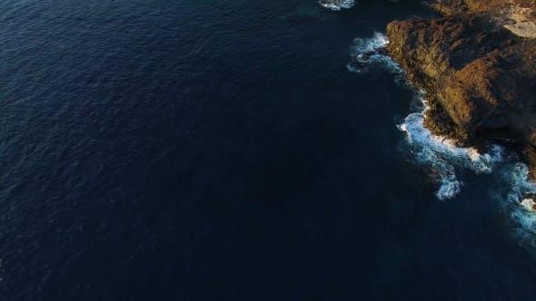 Thumbnail for Flight Over Seashore at Tenerife