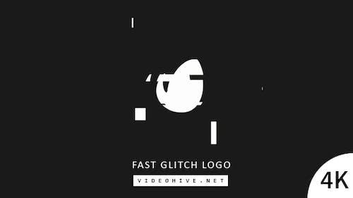 Fast Glitch Logo