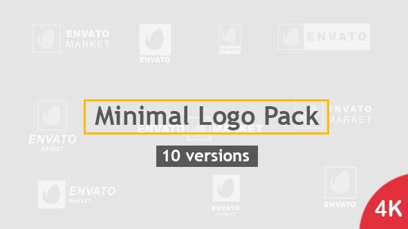Thumbnail for Minimal Logo Pack | 10 Versions