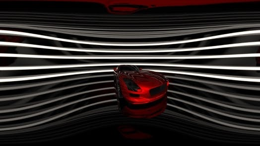 Thumbnail for Rotate Luxury Sport Car in Virtual Reality
