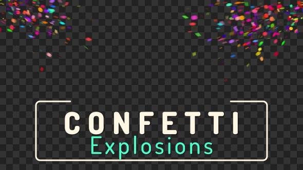 Thumbnail for Konfetti Explosionen