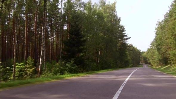 Thumbnail for Long Curve of Beautiful Rural Road