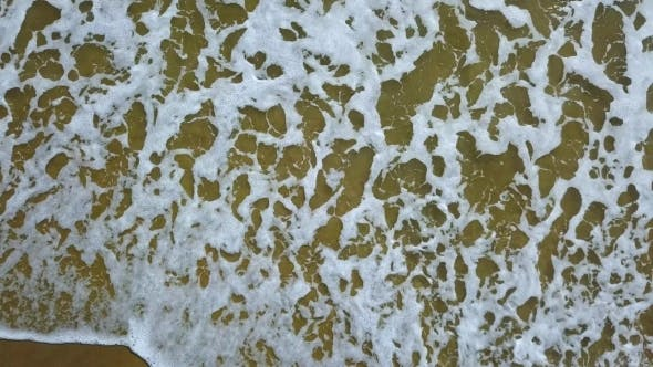 Thumbnail for Aerial View of the Sand Which Covers the Foam