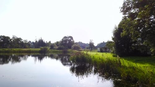 Lake in the Vicinity of the Cottage Village