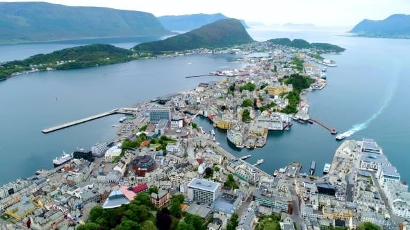 Thumbnail for City of Alesund Norway