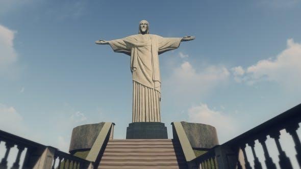 Thumbnail for 3D Christ The Redeemer - Rio de Janeiro