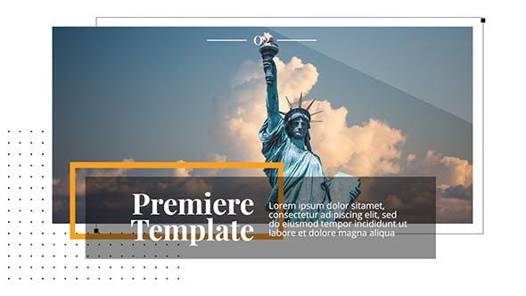 Thumbnail for Modern & Clean Presentation // Premiere Pro