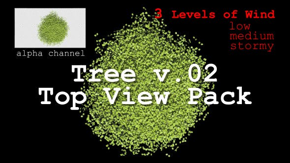 Thumbnail for Tree v. 02 Top View Pack
