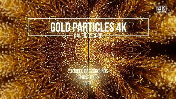 Thumbnail for Goldpartikel Kaleidoskop