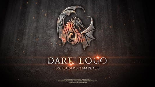 Thumbnail for Dark Logo Reveal