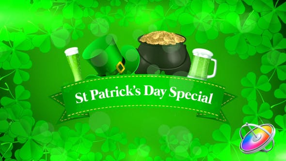 St Patrick's Day Special Promo - Apple Motion