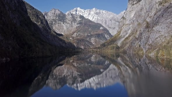 Thumbnail for Reflections in Obersee Lake, Berchtesgaden, Germany