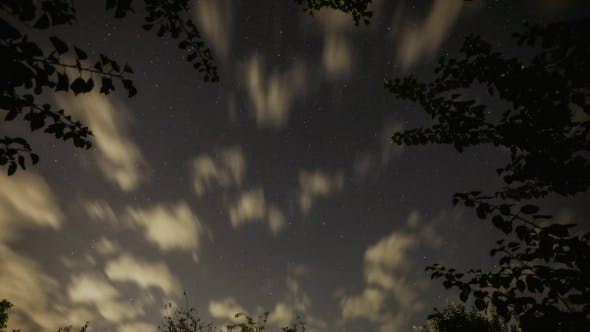 Thumbnail for Stars Sky Turning Space Astrophotography