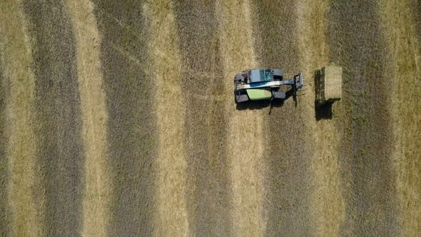 Thumbnail for Tractor Collecting Straw