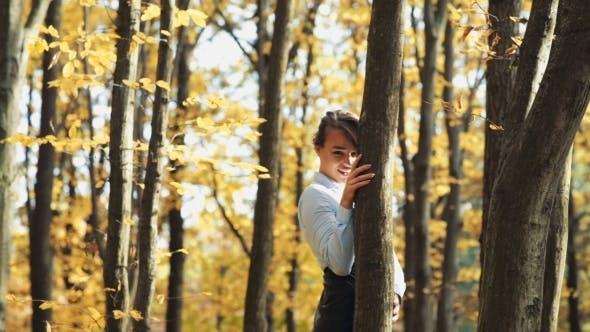 Thumbnail for Girl Walking in Park