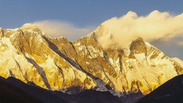Thumbnail for View of Everest on the Way To Everest Base Camp - Nepal