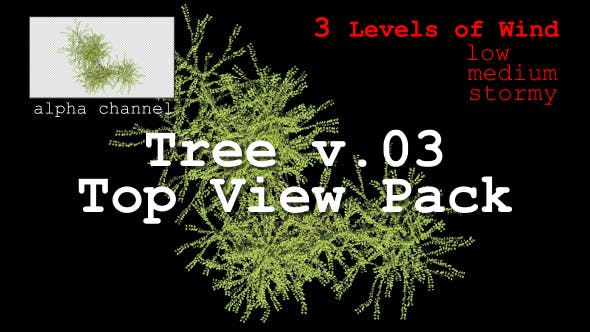 Thumbnail for Tree v. 03 Top View Pack