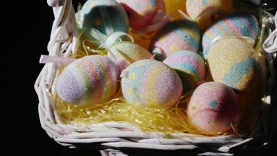 Decorative Easter Eggs. Decoration for Easter