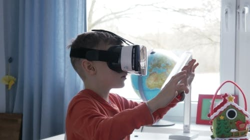 Achterbahn-Simulation in Virtual-Reality-Brille