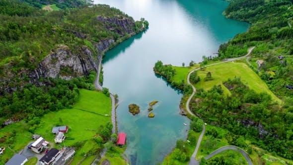 Thumbnail for Lovatnet Lake Beautiful Nature Norway