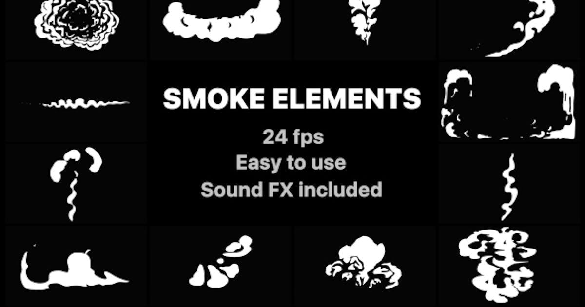 Download Cartoon Smoke Elements by MisterFlashAnimation