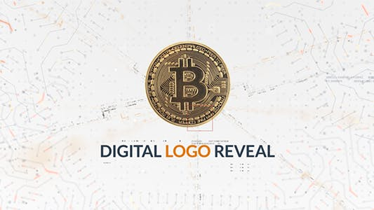 Thumbnail for Digital Logo Reveal  | After Effects Template
