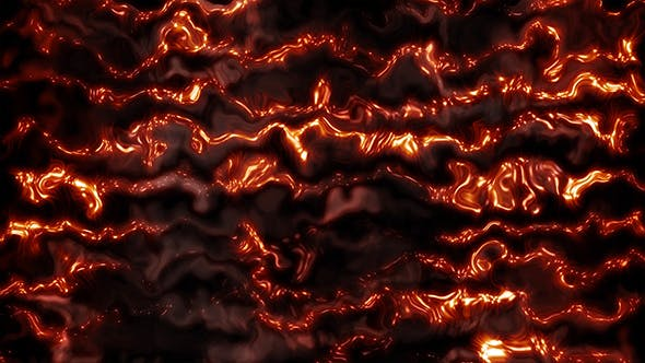 Thumbnail for Modern Red Glowing Particles Background