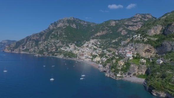Thumbnail for Positano, Italy Aerial Video