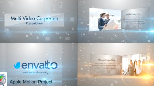 Thumbnail for Multi Video Corporate Presentation - Apple Motion