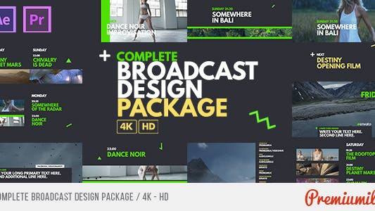 Complete Broadcast Design Package