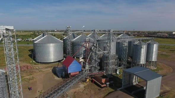 Thumbnail for Grain Storage Complex.