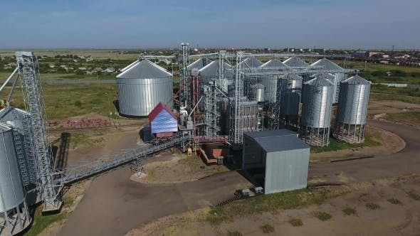 Thumbnail for Grain Storage Complex