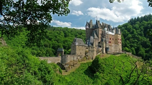 Castle Eltz Famous and Beautiful Castle in Germany