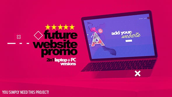 Cover Image for Future Website Promo 2in1