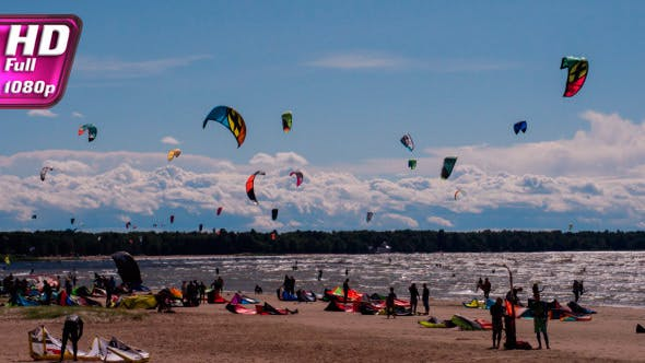 Great Weather for Kiteboarding
