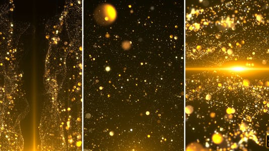 Cover Image for Gold Particle Backgrounds
