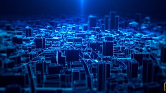 Thumbnail for Digital City Light Background