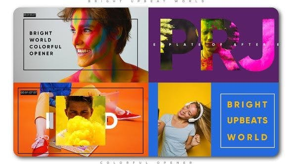 Thumbnail for Bright Upbeat World Colorful Opener