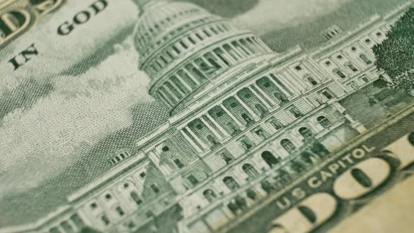 Fifty Dollars and United States Capitol