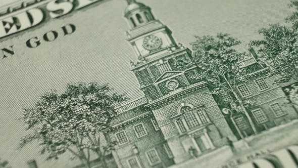 Thumbnail for Independence Hall on 100 Dollars